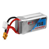 Gaoneng GNB 14.8V 750mAh 80C 4S XT30 Plug Lipo Battery for RC Drone