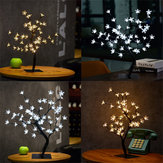 45cm LED Cherry Blossom Bonsai Sakura Tree con 72 LED Fairy Light Table lampada