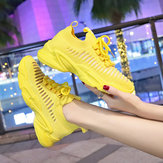 Breathable Sports Shoes Female Ins Street Shooting Super Casual Shoes Female Students Season New Wild Women's Shoes