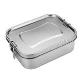 Lunchbox RVS Bento siliconen afdichtring Lekvrije hoogwaardige student
