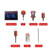 DALY Smart BMS Accessory bluetooth Module USB to UART/RS485 Cable CANbus Module Power Display Panel Touch LCD Screen