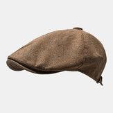 Outdoor Keten İnce Bere Kapakları Edebi İleri Şapka