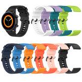 Bakeey 20/22 mm Pure Color Sweatproof Soft Silicone Relógio Banda Substituição da pulseira para Garmin Vivowatch