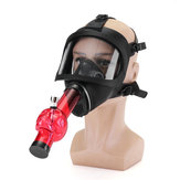 Silicone Acrylic Gas Filter Mask Water Shisha Pipe Tube