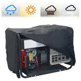 210DOxfordpañoapruebade intemperie Impermeable protector de la cubierta del generador a prueba de polvo