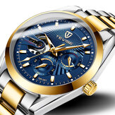 TEVISE T795 Chronograph 24 Hours Display Men Wrist Watch Business Style Automatic Mechanical Watch