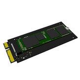 Maiwo KT042 M.2 SATA a SATA3 Scheda adattatore esterna Scheda di espansione Scheda di accelerazione Scheda SSD Convertitore
