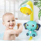Giocattoli per il nuoto del bagno del bambino dello spruzzo dello strumento della doccia dell'elefante elettrico per il gioco dell'acqua del bagno dei bambini