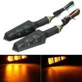 12v LED Индикатор поворота мотоцикл мотоцикл свет поворота лампа янтарного цвета универсальный