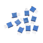 10pcs 3296W 10K ohm Trimpot Trimmer Potentiometer