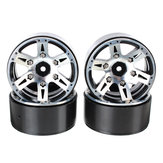 AUSTAR 4PCS Aluminum Alloy Wheel Hub AX-615 12mm Hex For Climbing Car