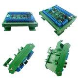 R4D1C32 12V 32チャネルDINレールRS485コントローラModbus RTUプロトコルリモートPLC拡張ボード