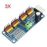3Pcs PCA9685 16-Channel 12-bit PWM Servo Motor Driver I2C Module Geekcreit for Arduino - products that work with official Arduino boards