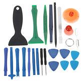 25 em 1 desmonte diy conjunto de ferramentas de combinação kit de ferramentas de abertura para iphone para ipad para Samsung ferramenta de reparo dedicado