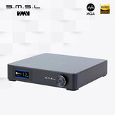SMSL M400 Audio DAC AK4499 DSD512 PCM 768kHz/32bit bluetooth 5.0 Support LDAC Full Balanced 24bit/192kHz UAT DSD Decoder
