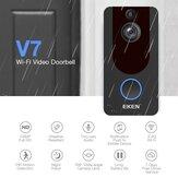 Eken V7 Draadloze WiFi Intelligent Visual 1080P Deurbel Nachtzicht Video-intercom Deurbel Inductie Cat Eye