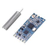 Geekcreit® HC-12 433MHz SI4463 Módulo serial sem fio Transceptor sem fio Transmissão Placa de comunicação serial para dados remoto 1000M