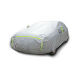 5.1*1.9*1.5m Full Car Cover for Saloon WaterProof Outdoor Dust UV Rain Protector