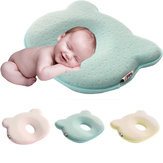 Baby Pillow Infant Toddler Sleep Positioner Anti Roll Cushion Protección de la cabeza plana para Baby Cotton Pillow