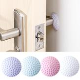 Botão de porta de borracha Autocolantes adesivos elásticos autoadesivos Mute Autocolantes adesivos de parede
