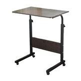Mesa para laptop ajustável Mesa para notebook removível Trole portátil Sofá-cama Bandeja Base de prateleira de computador