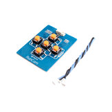 RunCam Key Board med 1,25mm 2pin FPV silikonekabel for Micro Sparrow Micro Swift 2 FPV kameraer