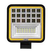Carro universal LED Trabalho Luz Veículo Spotlight Lâmpada Quadrada 200 W 6000 K 8000LM À Prova D 'Água Para Off-road Car Boat Camp