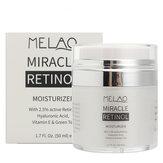 Melao Retinol Moisturizer Facial Cream Serum Anti Wrinkles Aging Hyaluronic Acid Vitamin E Skin
