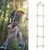 5 sporten Houten klimtouw Ladderschommel voor kinderen