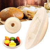 ElyapımıYuvarlakOvalBannetonBortform Rattan Saklama Sepetleri Ekmek Hamur Prova Liner