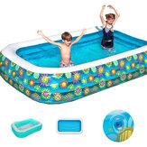 290 x 175 cm natación inflable Piscina niños adultos verano baño bañera bebé uso doméstico remo inflable Piscina