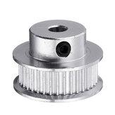 Polea de distribución de aluminio de 36 dientes y 8 mm de diámetro para pieza de impresora 3D de 6 mm GT2 Cinturón