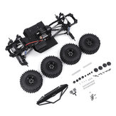 Telaio con telaio in metallo per SCX10Ⅱ 1/10 RC Auto Vehicle Models Parts with 540 Motor