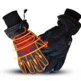 WARMSPACE 7.4V 3000 mah Calentado eléctricamente Guantes Moto Calentador de invierno al aire libre Esquí
