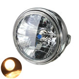 7inch 12V 35W H4 Motorcycle Headlight Bulb Rear Mount Headlamp