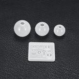 4 piezas de moldes de resina kits Silicona fabricación de moldes de joyería Colgante molde Craft