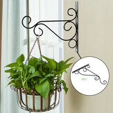 Plant Hanger Wall Bracket Iron Basket Rack Hook Garden Flower Pot Holder