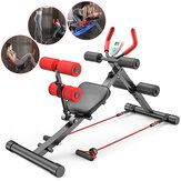 Multifunction 4 Levers Adjustable Bench Sit Up Abdominal Trainer Exercise Bench Home Gym Fitness