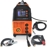 MIG-200AL 6 em 1 220V Inversor Arc Electric Welding Machine MIG / MMA / LIFT TIG / PULSE AlMg / PULSE AlSi / DUPLO PULSE Welder for Welding Electric Working LCD Display