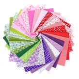 7pcs tecido de pano de algodão costura patchwork roupas artesanais diy floral