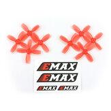 4 paar Emax 1210 31 mm 4-bladige propeller voor Nanohawk Whoop RC Drone FPV Racing