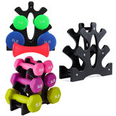 Plastic Dumbbell Rack Compact Dumbbell Holder Tree Stand Support Bracket