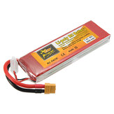 Batería de Lipo ZOP Power 7.4V 5000mAh 60C 2S Enchufe XT60 Para Rc Racing Coche