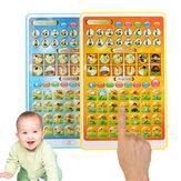 Исламский малыш смеется учиться игрушки планшет ребенка ребенка смарт-этапы арабский алфавиты