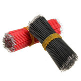 2000pcs 6cm Breadboard Jumper Cable Dupont Wire Electronic Wires Black Red Color