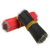 2000pcs los 6cm Breadboard Jumper Cable Dupont Alambre Electrónico Alambres Negro Rojo Color