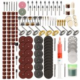 217pcs Rotary Tool Accessories Set Grinding Sanding Polishing Tool for Dremel