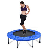 Round Trampoline Spring Safety Pad Cover Folding Jumping Mattress Exercise Gymnastics Mat Airtrack