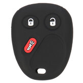 Remote Key Blank Shell Case Pad Cover For GM GMC Yukon Chevrolet Isuzu 3 Buttons