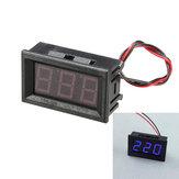 5pcs 0.56 pouces bleu ac70-500v mini voltmètre numérique tension panneau mètre compteur de tension LED affichage compteur